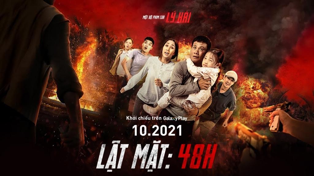 'Lật mặt: 48h' ra mắt khán giả xem phim online trên Galaxy Play từ 16/10