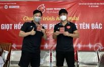 Trong bình thường mới, Lâm Vũ và Thiên Phú Tài vẫn duy trì trao quà và hiến máu nhân đạo