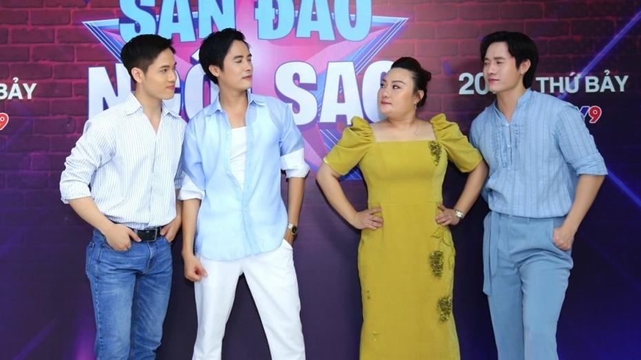 'Công chúa cải lương' Phạm Huyền Trâm chao đảo trước ba chàng soái ca tại 'Sàn đấu ngôi sao'