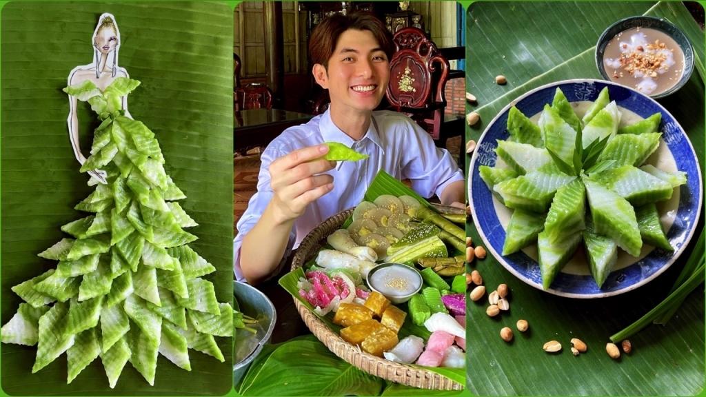 NTK Nguyễn Minh Công tung trọn vẹn BST thời trang từ 20 loại bánh Nam Bộ