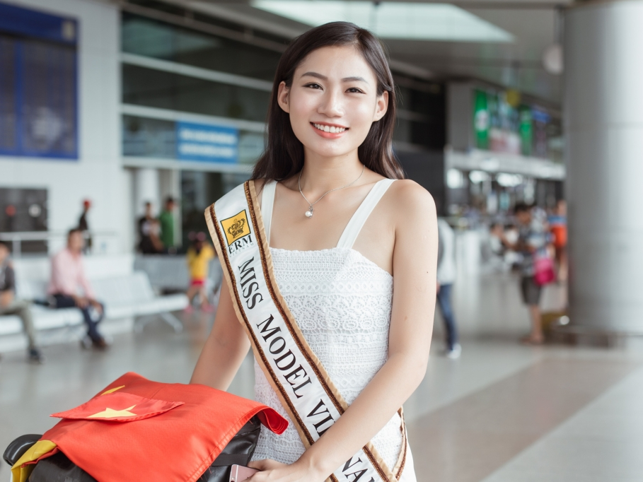 do trinh quynh nhu len duong du thi miss model of the word 2017