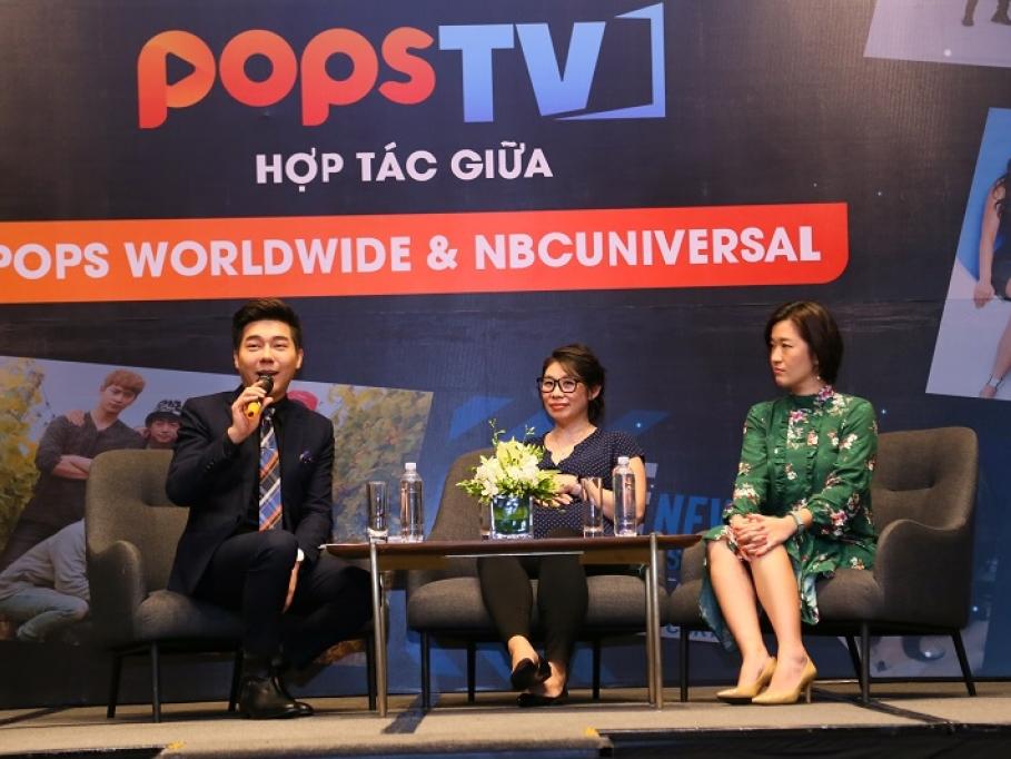 pops worldwide ra mat trang video giai tri pops tv va hop tac chien luoc voi nbcuniversal