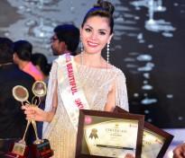 kim nguyen boi thu giai thuong tai cuoc thi hoa hau chau a 2018