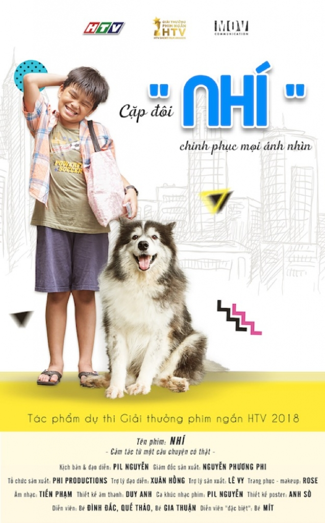truong ngoc anh hoa mat boi hang loat poster dep cua thi sinh giai thuong phim ngan htv htv short film awards 2018