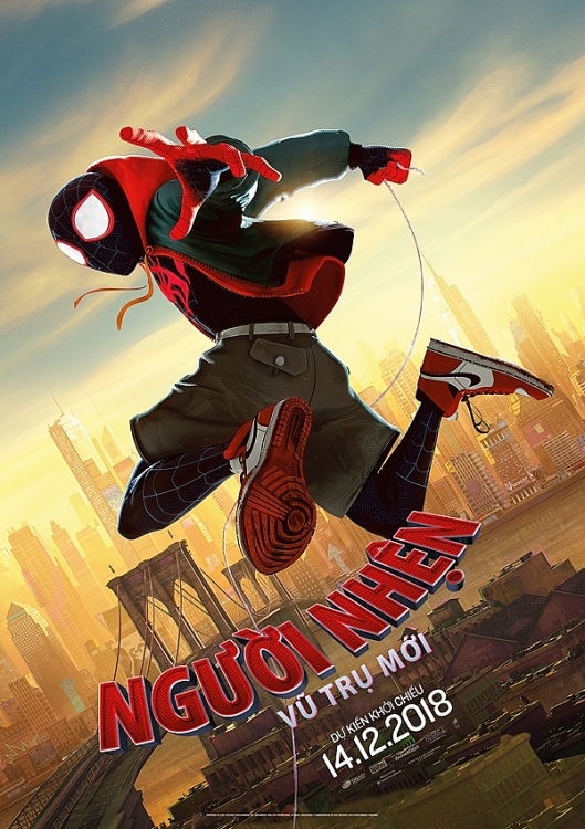 bom tan spider man into the spider verse he lo ngay cong chieu chinh thuc phan 2