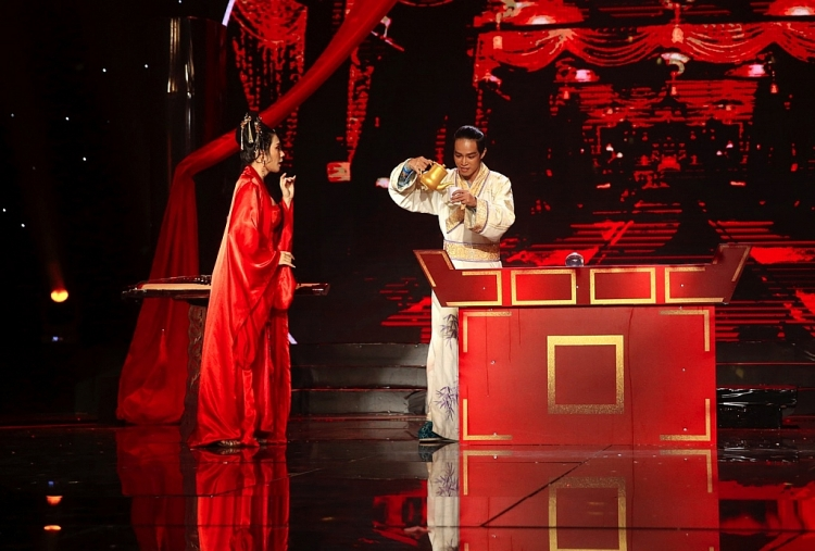 Trình diễn ảo thuật như tác phẩm điện ảnh, ảo thuật gia Đài Loangây ấn tượng mạnh