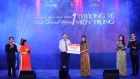 Chương trình 'Tình doanh nhân 1: Thương về miền Trung' quyên góp được gần 4 tỷ đồng
