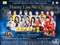 NSƯT Trịnh Kim Chi tổ chức đêm nhạc cứu trợ miền Trung