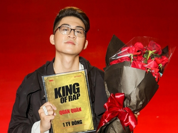 Hành trình hơn 3 tháng của 'King of Rap' đã tìm ra Quán quân