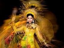 Người đẹp Minh Tâm lỗng lẫy với áo dài hoàng gia