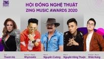 Rhymastic, Khắc Hưng lần đầu ngồi ghế Hội đồng nghệ thuật Zing Music Awards 2020