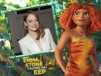 Ngọc nữ Emma Stone và hành trình 7 năm cùng 'The Croods'
