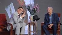 'Ký ức vui vẻ': MC Lại Văn Sâm 'toát mồ hôi', nhận nghệ sĩ Mạc Can là 'sư phụ'