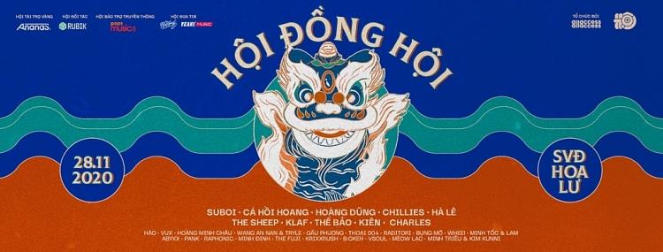 dan line up cuc xin cua hoi music festival suboi ca hoi hoang chillies the sheep