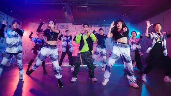 quang dang giu vai tro moi trong san pham ket hop cua weeza king of rap va team lifedance