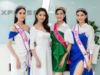 Á hậu Thùy Dungkhoe nét đẹp dịu dàng bên top 3 'Hoa hậu Việt Nam 2020'