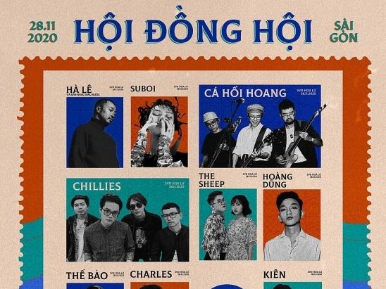 hoi dong hoi dai nhac hoi rap indie underground lon nhat trong nam keo dai 13 tieng