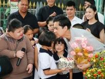 Ngọc Sơn đón sinh nhật cùng các bé mồ côi