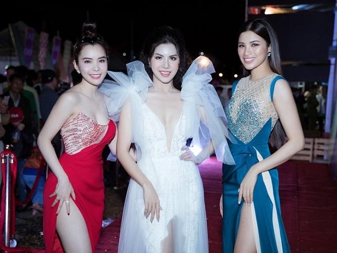Hoa hậu Huỳnh Vy đọ dáng cùng Loan Vương, Nguyễn Thị Thành
