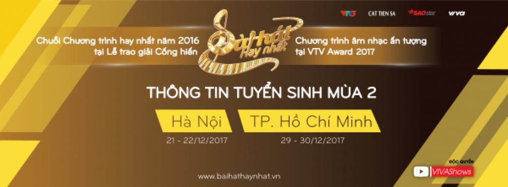 sing my song bai hat hay nhat da chinh thuc quay tro lai mua 2