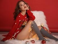 Em gái siêu mẫu Hà Anh 'nóng bỏng' không thua gì chị