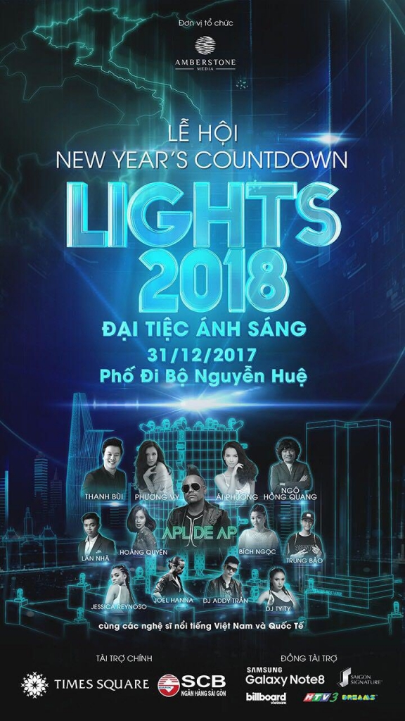 le hoi new years countdown lights 2018 quy tu nhieu nghe si quoc te goc viet