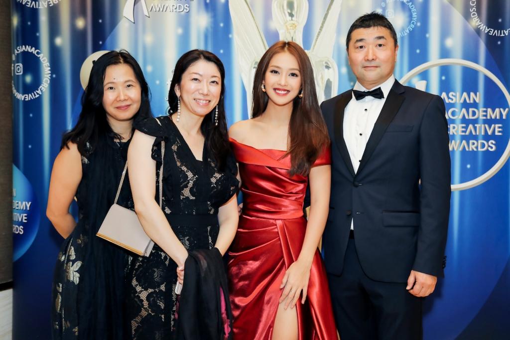 song luan cung kha ngan vinh du duoc moi trong vai tro nguoi trao giai cho aaa 2018