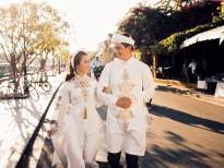 Hà Việt Dũng tung ảnh cưới đẹp như mơ với bà xã người dân tộc Thái