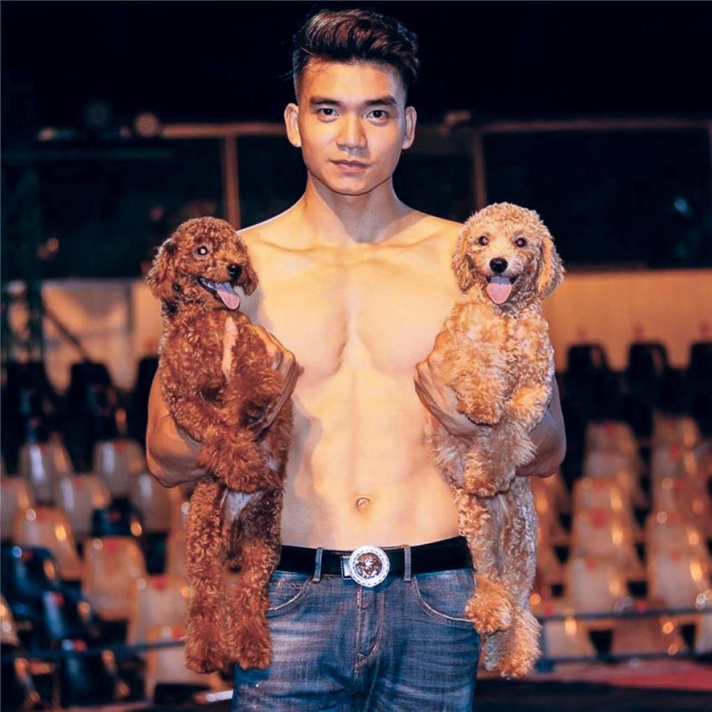 hotboy lang xiec trinh thang chua bao gio nghi toi viec lan san vao showbiz