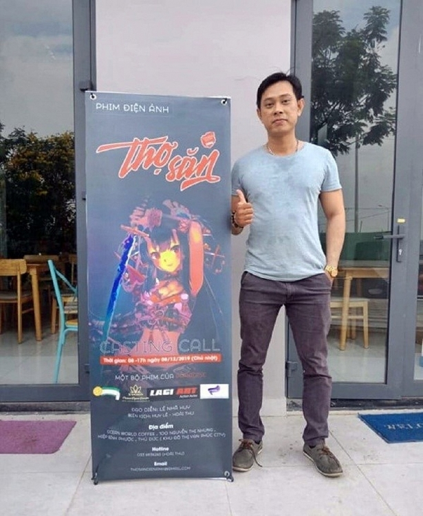 dao dien le nha huy casting thanh cong phim dien anh hanh dong hai tho san