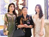 Con gái Lý Hương đấu giá váy Hoàng Hải làm từ thiện