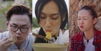 'Muốn ăn phải lăn vào bếp': Hết hồn với khoảnh khắc ăn 'trôi' hình tượng của LynkLee, Liz Kim Cương, Văn Mai Hương, Đại Nghĩa