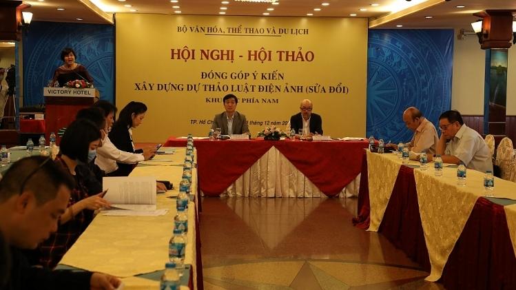 Hội thảo đóng góp ý kiến xây dựng dự thảo Luật Điện ảnh (sửa đổi) khu vực phía Nam