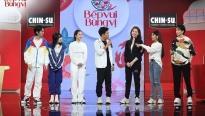 'Bếp vui bùng vị': Trường Giang và Lâm Vỹ Dạ thi nhau khiến Hari Won 'tổn thương'