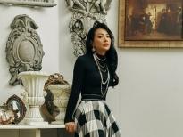 Yaya Trương Nhi gợi ý phong cách trang nhã dịp Giáng sinh 2020