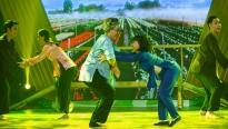 Việt Hương, Đại Nghĩa tích cực tập nhảy, mở màn đêm chung kết 'Vũ điệu vàng'