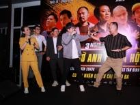 Cinetour 'Chị Mười Ba 2' ngập cẩu lương, Tiến Luật hôn Thu Trang say đắm