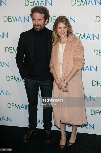 Hai nhà làm phim Mélanie Laurent phải và Cyril Dion