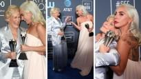 Glenn Close và Lady Gaga chia sẻ giải thưởng trong đêm trao giải Critics' Choice