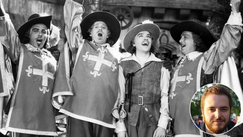 netflix se lam lai bo phim the three musketeers