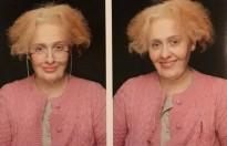 Adele tự biến thành bà già nhân sinh nhật thứ 29!