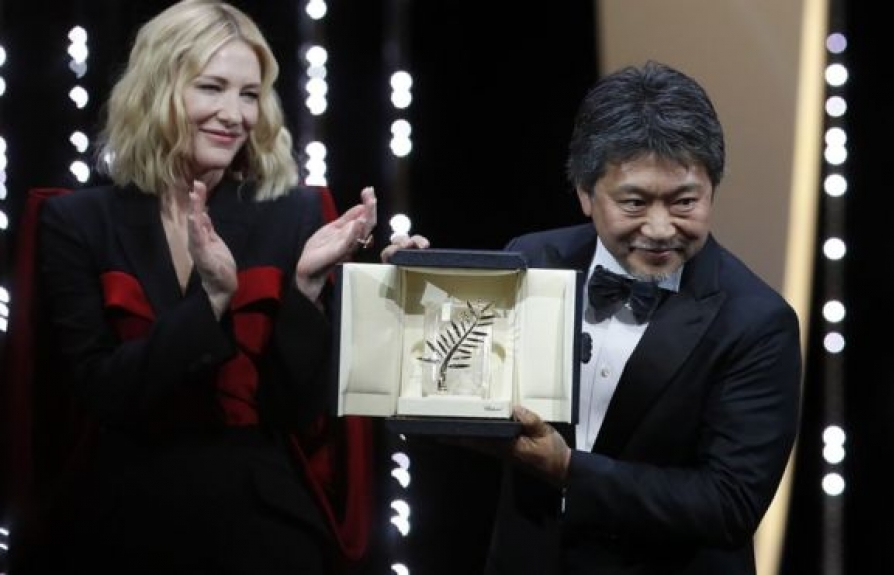 shoplifters doat giai canh co vang lien hoan phim cannes 2018