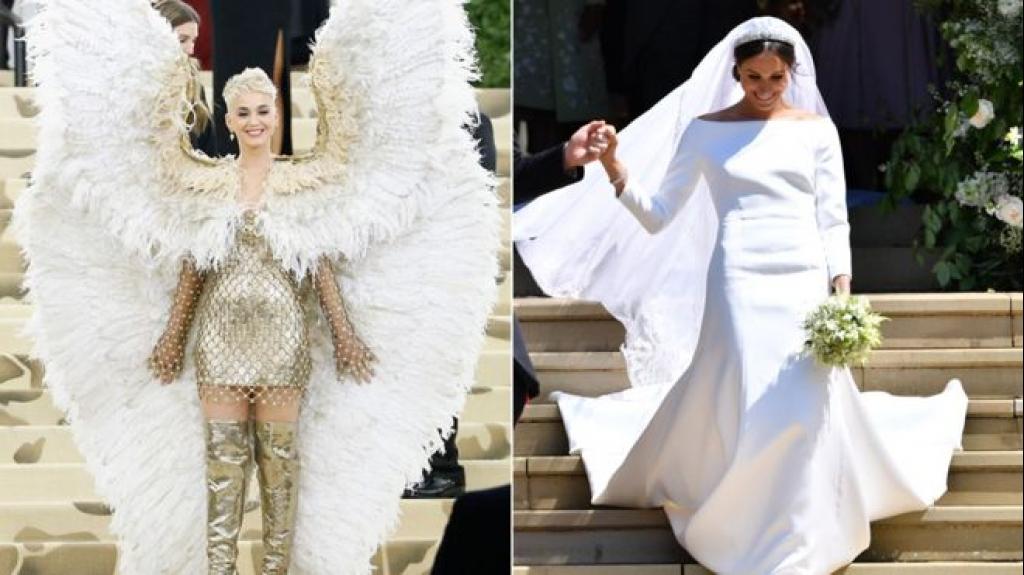 Katy Perry không thích váy cưới của Nữ công tước Meghan Markle