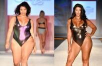 Tranh cãi nổ ra với màn trình diễn của người mẫu béo phì