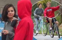 Selena Gomez lại vui vẻ bên Justin Bieber sau khi chia tay The Weeknd
