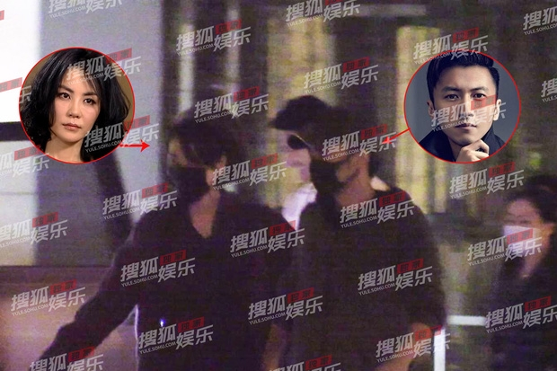 Tạ Đình Phong cực kì tình tứ nắm tay Vương Phi giữa tin đồn tái hợp Trương Bá Chi?