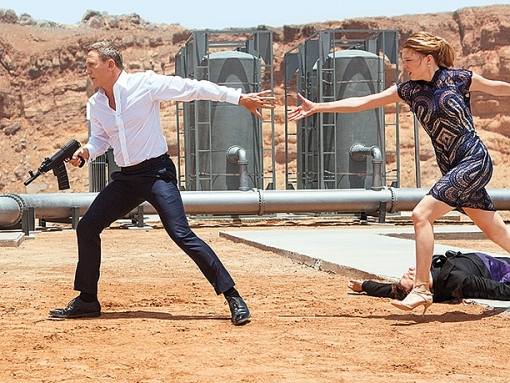 Daniel Craig và Léa Seydoux: Phim trường 'No Time To Die' lúc nào cũng đầy ắp tiếng cười!
