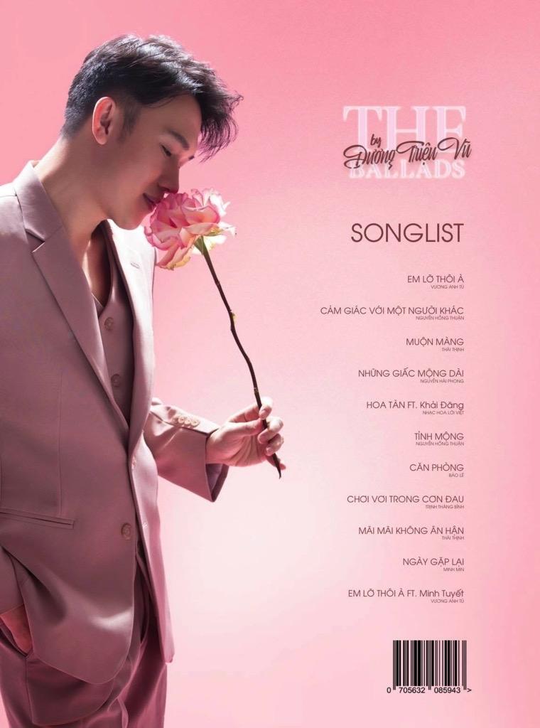 duong trieu vu phat hanh 1000 album ballad tang fan