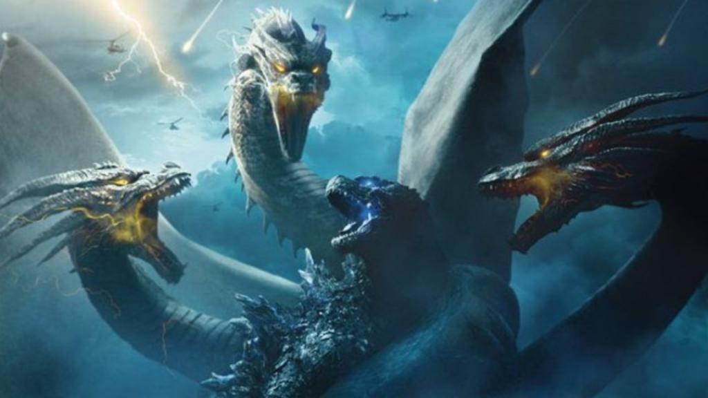 Godzilla chiến đấu với rồng ba đầu sẽ như thế nào trong 'Godzilla King Of The Monsters'