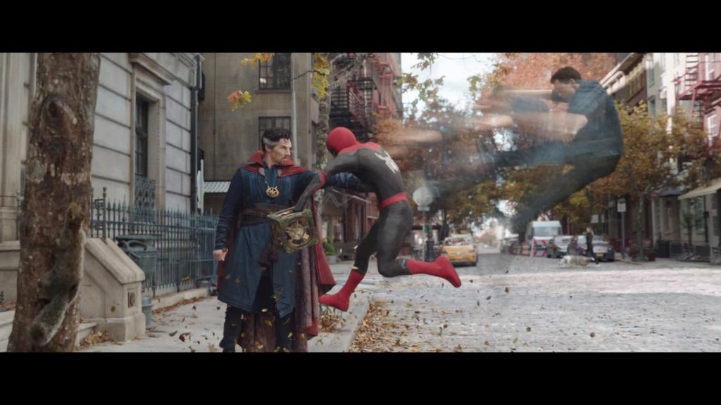 Mãn nhãn với kĩ xảo hành động trong 'Spider-Man: No Way Home'